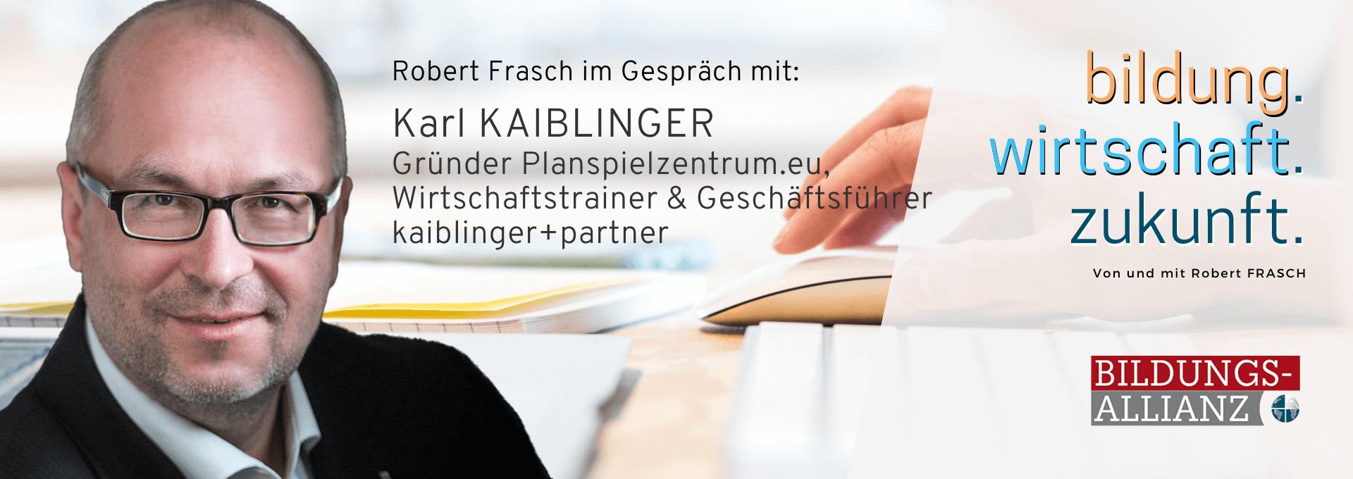 BWZ003 – Interview mit Karl Kaiblinger über Planspiele in der Wirtschaft