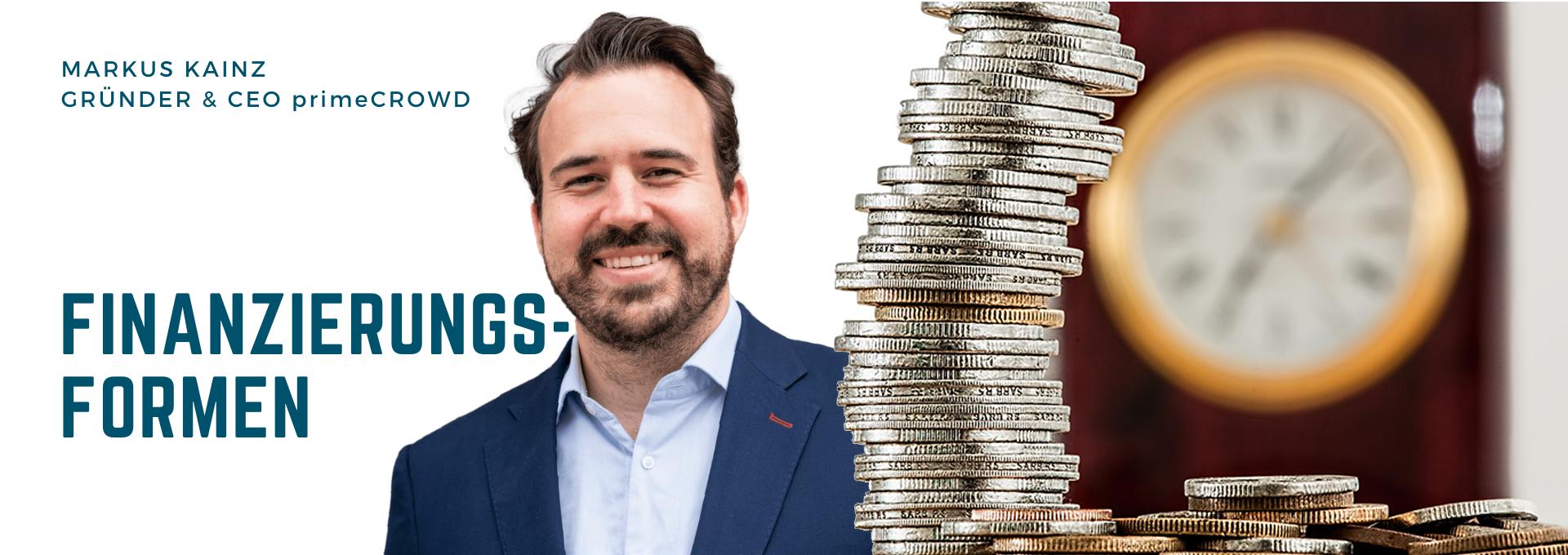DIM004 – Finanzierungsformen für Startups – Markus Kainz, Gründer und CEO von primeCROWD